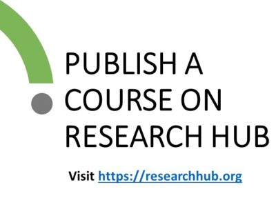 Publish A Course on Research HUB