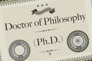 WHAT A PhD IS AND WHAT IT IS NOT