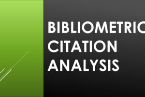 bibliometric analysis